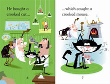 Load image into Gallery viewer, Usborne First Reading: There was a Crooked Man (Level 2)