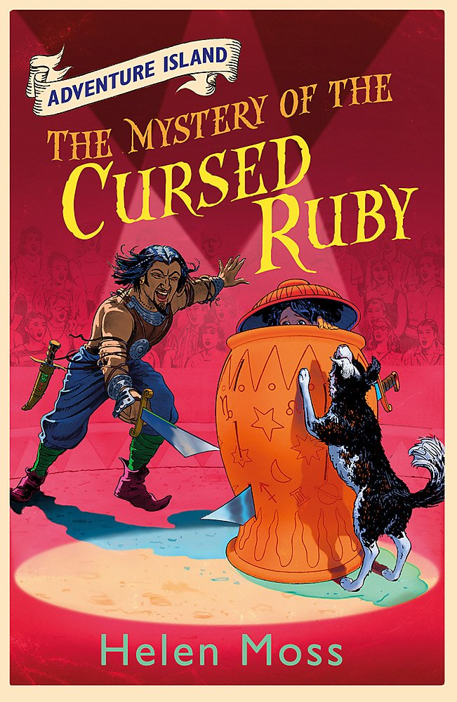 Adventure Island: The Mystery of the Cursed Ruby (#5)