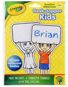 Crayola Desk-topper Kids (6 per pack)