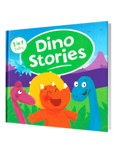 2 in 1 Tales: Dino Stories