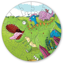 Load image into Gallery viewer, Dinosaur Puzzle Play Pack: Read, Puzzle, Play!
