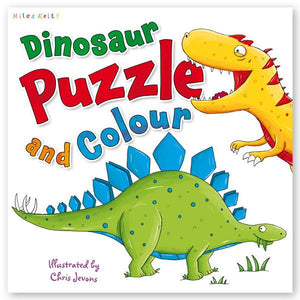 Dinosaur Puzzle Play Pack: Read, Puzzle, Play!