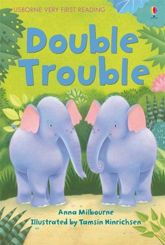 Usborne Very First Reading: Double Trouble Book 1