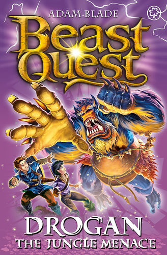 Beast Quest: Drogon the Jungle Menace (Series 18: Book 3)