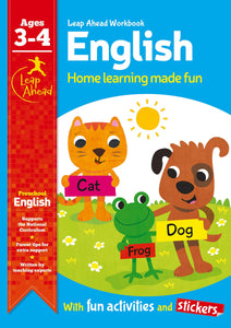 Leap Ahead Workbook: English Ages 3-4