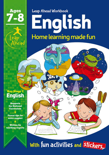 Leap Ahead Workbook: English Ages 7-8