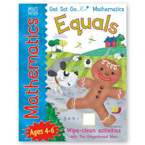 Get Set Go Numbers: The Gingerbread Man - Equals Ages 4-6
