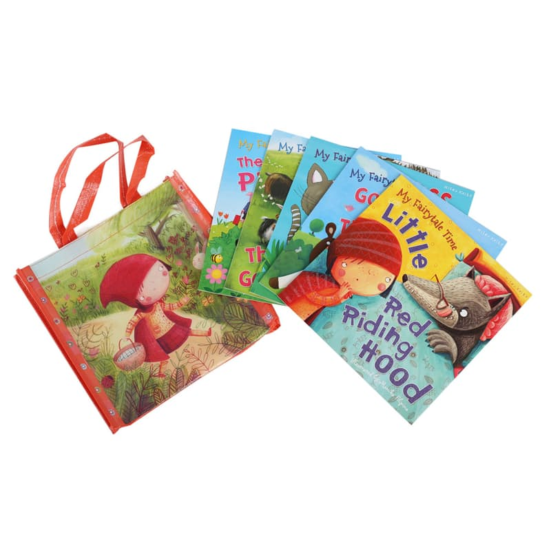 Fairytale Time Book Set Collection with Tote Bag