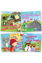 Load image into Gallery viewer, Fairytale Time Book Set Collection with Tote Bag