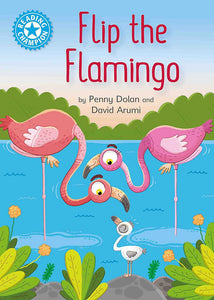 Flip the Flamingo (Blue 4)