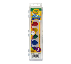 Crayola Washable Glitter Watercolors