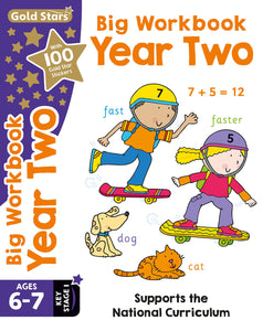 Gold Stars: Big Workbook Year Two