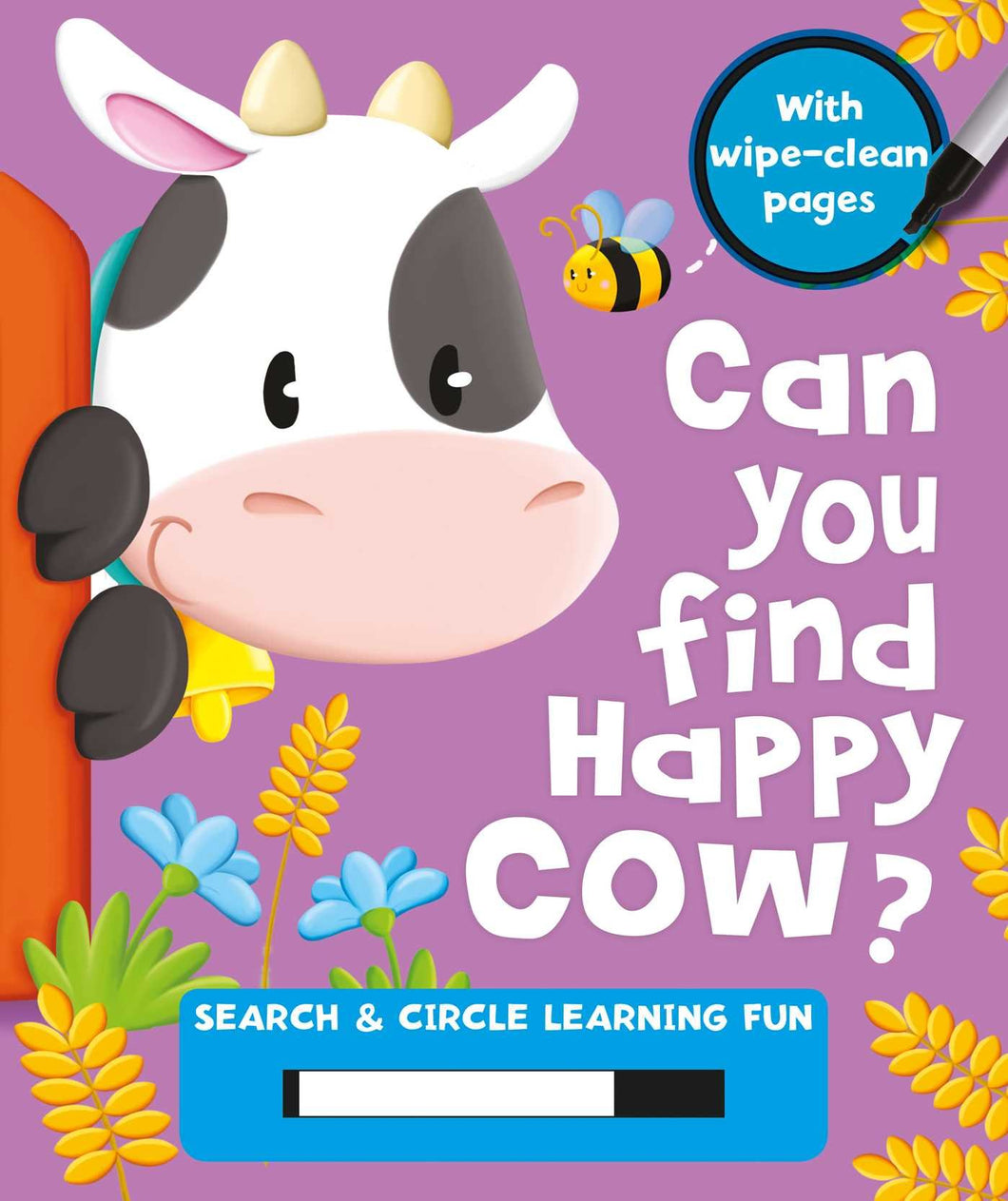 Can You Find Happy Cow?: Search & Circle Learning Fun