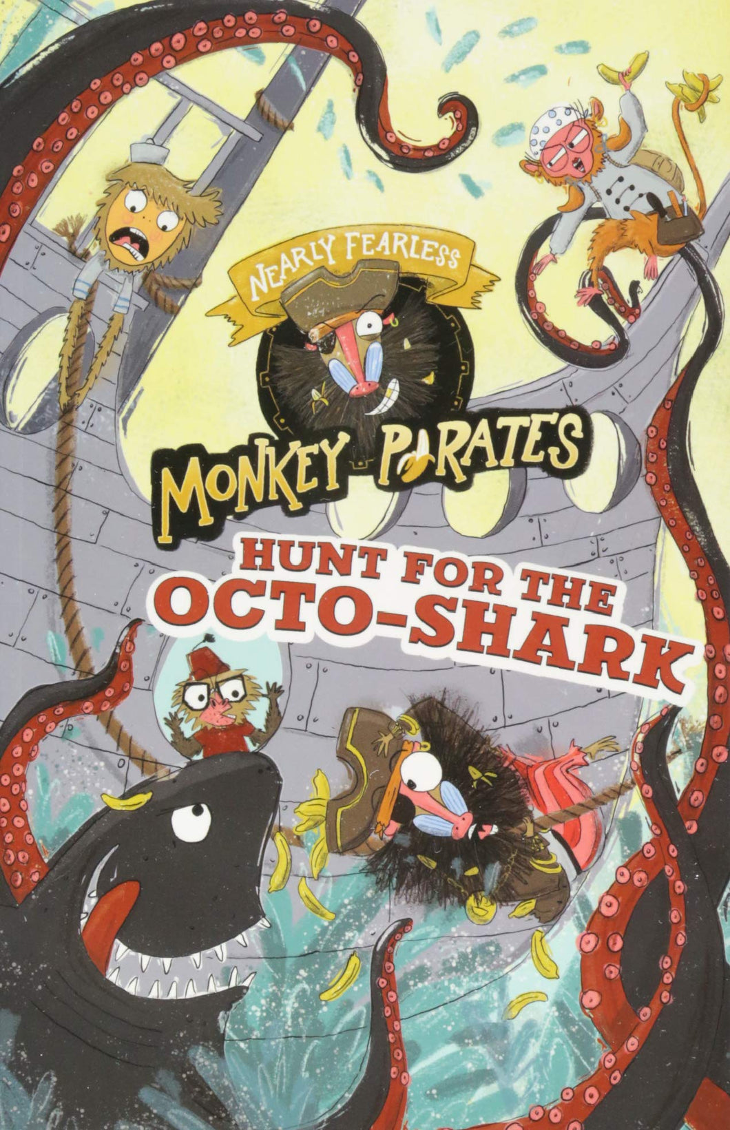Nearly Fearless Monkey Pirates: Hunt for the Octo-Shark