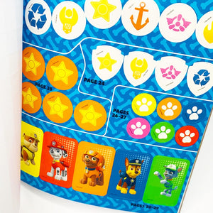 Paw Patrol 1000 Stickers and Activity Book