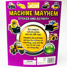 Load image into Gallery viewer, Machine Mayhem Sticker and Activity