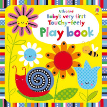 Load image into Gallery viewer, Baby's Very First Touchy-feely Play Book