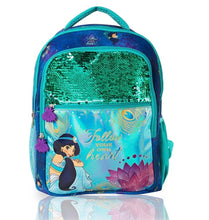 Load image into Gallery viewer, Disney's Aladdin Jasmine Sequin Backpack: Follow Your Heart