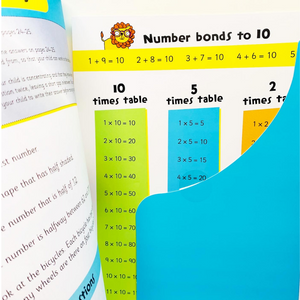 Help With Homework: Don't Panic Maths with Revision Poster Level 1 (Age 7+)
