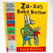 Load image into Gallery viewer, Za-Za's Baby Brother: Book & DVD
