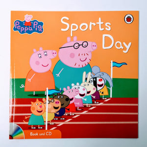 Peppa Pig: Sports Day Book & CD