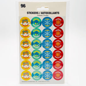 Whimsical Weather Reward Stickers (96 count)