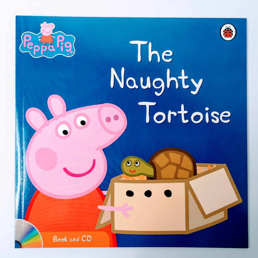 Peppa Pig: The Naughty Tortoise Book & CD