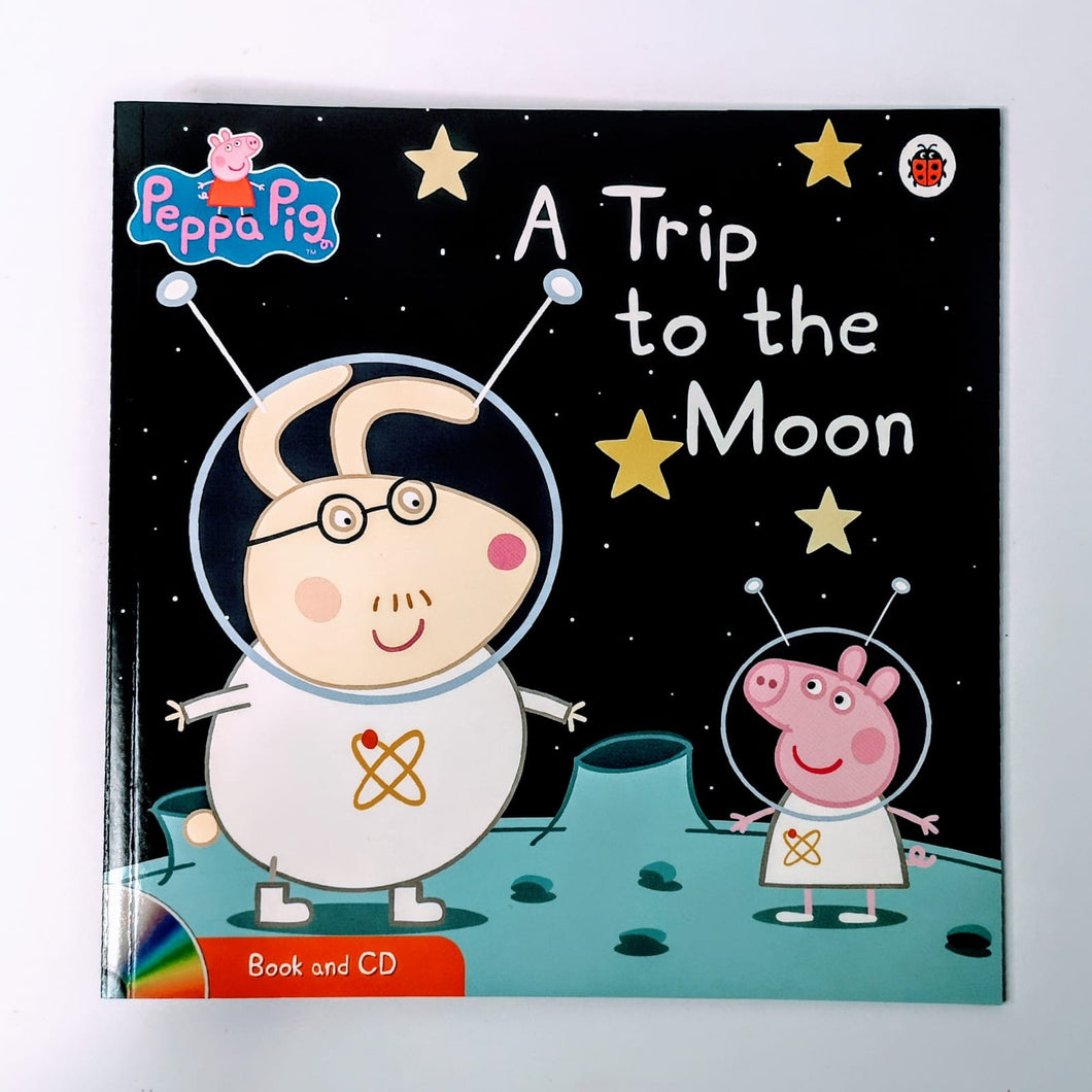 Peppa Pig: A Trip to the Moon Book & CD