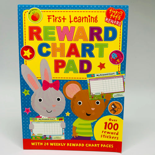 First Learning Reward Chart Pad