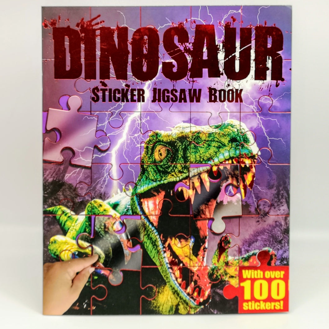 Dinosaur Sticker Jigsaw Book