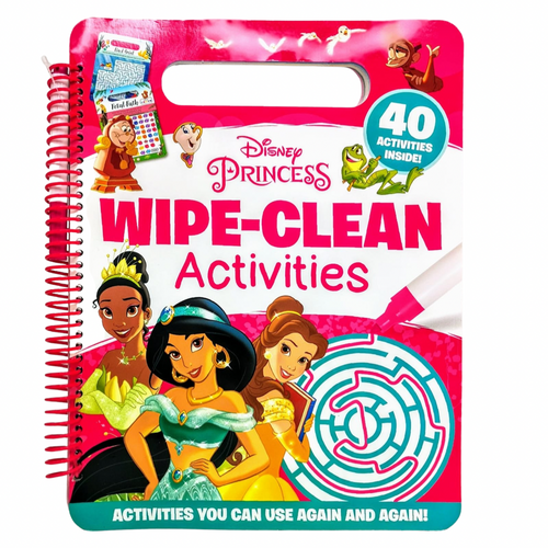 Disney Princess Wipe-Clean Activities