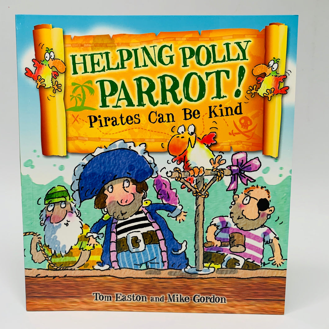 Helping Polly Parrot! Pirates Can Be Kind