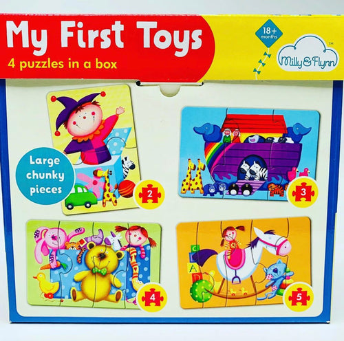 My First Toys: 4 Puzzles in a Box