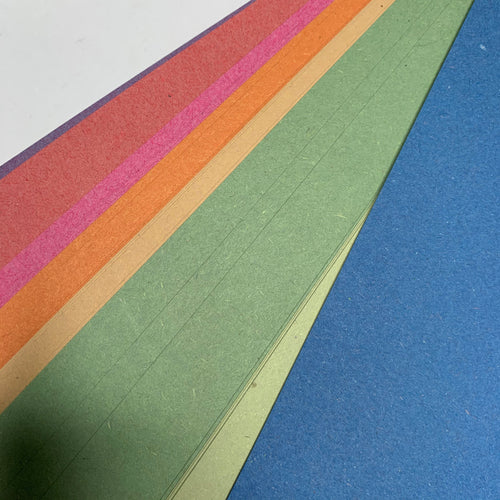 Craft Construction Paper Multi-Coloured Pack (40 Sheets)
