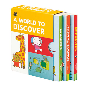 World to Discover: 3 Book Collection
