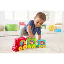 Load image into Gallery viewer, Fisher Price Stack & Roll Choo Choo