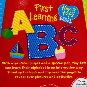 Tiny Tots Easel: First Learning ABC