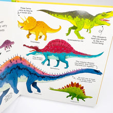 Load image into Gallery viewer, Usborne My Very First Dinosaurs Book