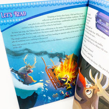 Load image into Gallery viewer, Disney Learning: Olaf's Frozen Adventure: Maths and English Learning Yearbook (Age 5+) Reading and Comprehension Learning Workbook (Ages 5-6)