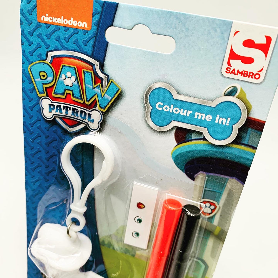 Paw Patrol: Colour Your Own Bag Charm