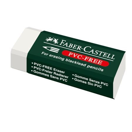 Faber-Castell Eraser PVC-free