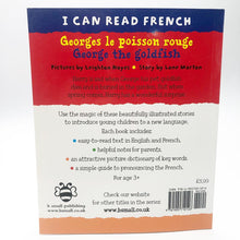 Load image into Gallery viewer, I Can Read French: Georges le poisson rouge