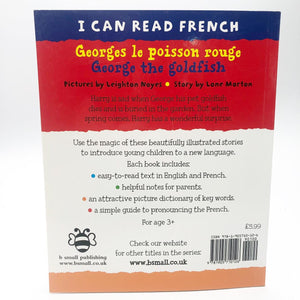 I Can Read French: Georges le poisson rouge