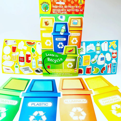 Teaching Tree: Learn to Recycle Activity Kit