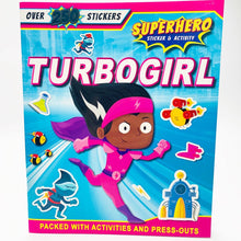 Load image into Gallery viewer, Turbogirl Sticker and Activity Adventure