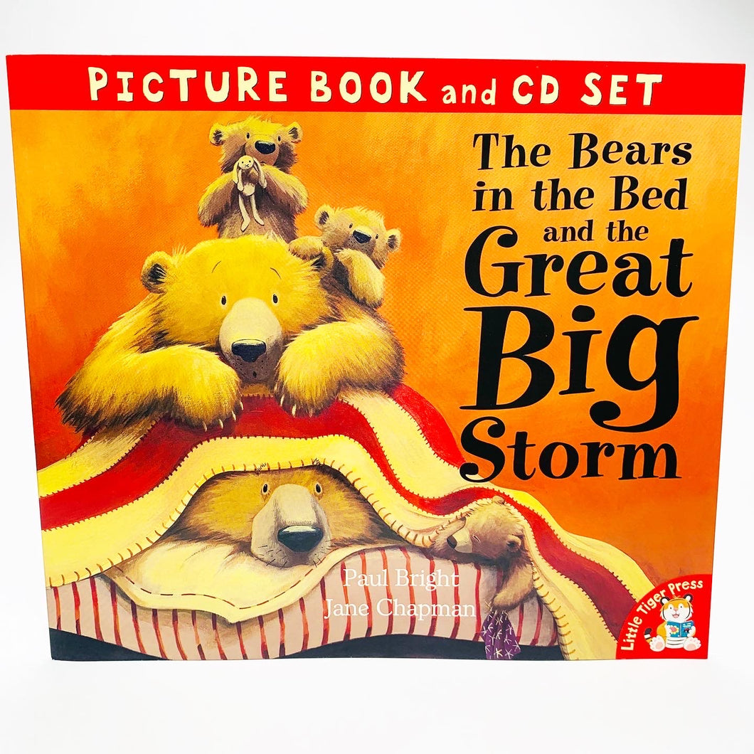 The Bears in the Bed and the Great Big Storm: Picture Book and CD