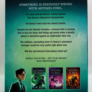 Artemis Fowl and the Atlantis Complex (#7)