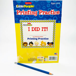 Fisher Price Little People: Printing Practice