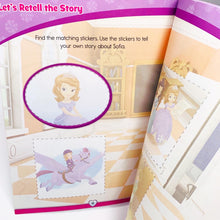 Load image into Gallery viewer, Disney Learning: Sofia the First: Reading and Comprehension Learning Workbook (Ages 5-6)