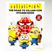 Load image into Gallery viewer, Minions: The Road to Villain-Con Sticker Book